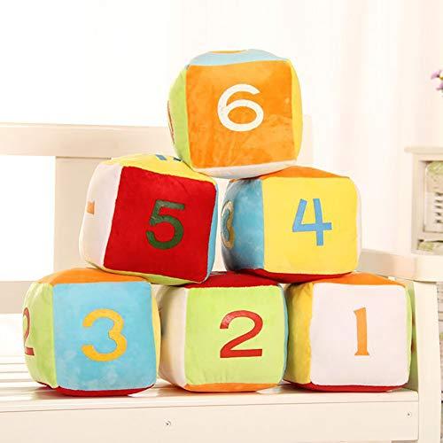 Homeofying 4 Pulgadas Divertidos Dados Muñeca Peluche De Peluche Sofá Casero Juego De Cerebro Favores De Fiesta Regalo Nordic Plush Soft Toy 1