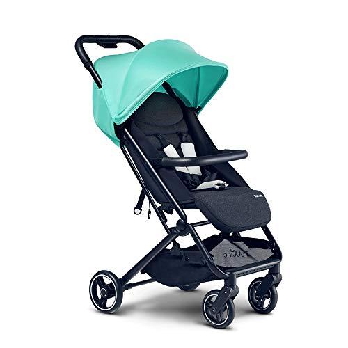 Best Bargain Trolley Multifunctional Baby Stroller Lightweight Folding Can Sit Reclining Umbrella Po...