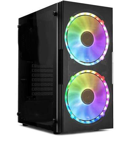 Centaurus Polaris 4A Gaming PC - AMD Ryzen 9 3900X 4.2GHz 12-Core, GT 1030, 32GB RAM, 1TB NVMe SSD, Liquid Cooler, Windows 10 Pro | Custom Professional PC
