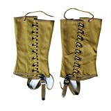 WWII U.S. Soldier WW2 US Leggings Grey Gaiters Puttee Canvas Material Reproduction