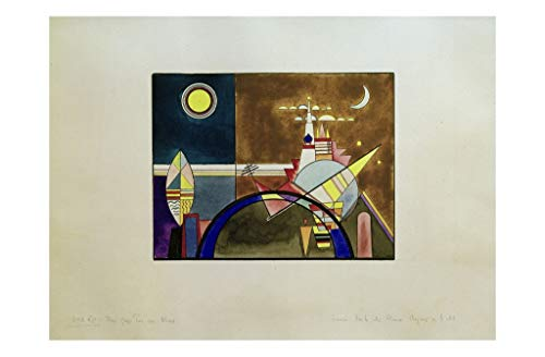 Wassily Kandinsky - Pictures at an exhibition: Gate of Kiev 1930 Print 61x91.5cm