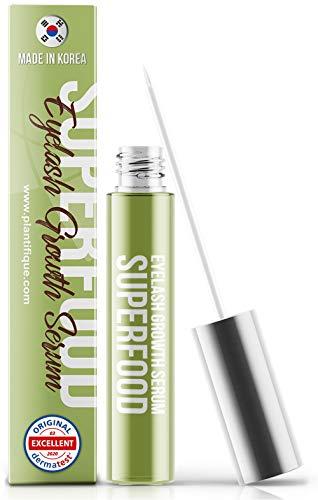 Superfood 4ml Eyelash Growth Serum - Hypoallergenic & Dermatologist Tested Eyelash Serum   Thick...