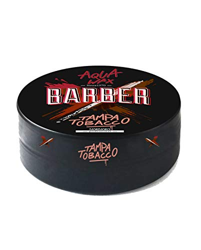 Marmara Barber Aqua Hair Wax (GUM,SPIDER,TROPICAL,ROYAL,TAMPA TOBACCO,CREAM WAX,MATTE WAX) Haarwachs Haargel Gel-Wax Haarwax Creme Wax (TAMPA TOBACCO)