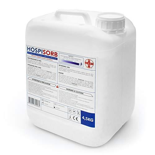 AIESI® Calce Sodata per anestesia gassosa assorbitore di anidride carbonica in granuli tanica da 4,5 kg HOSPISORB