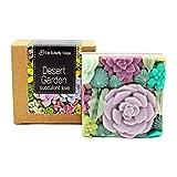 Naturseife'Desert Garden' | frisch grüner, ozoniger Duft nach Kaktus, Wasserlilie, Aloe Vera und...