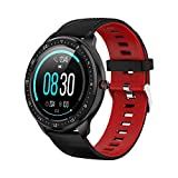 Tipmant Smartwatch, Orologio Fitness Uomo Donna Impermeabile IP68 Smart Watch Cardiofrequenzimetro...