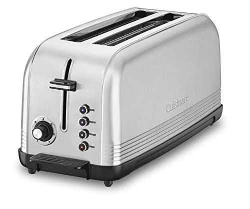 Cuisinart CPT-2500 Long Slot Toaster, Silver,...