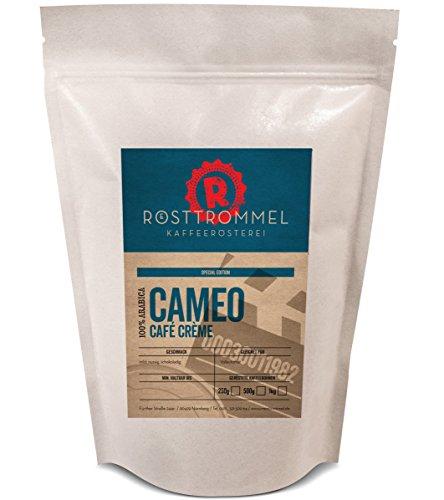 Kaffeebohnen CAMEO - Special Edition - nussig, mild - handgerösteter Cafe Crema - ideal für Kaffee-Vollautomaten