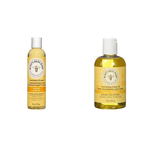 Burt's Bees Natural Baby Duo. Set Includes Burt's Bees Baby Shampoo and...