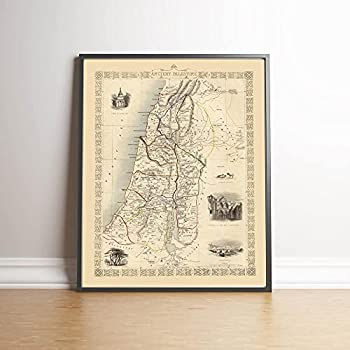 ancient palestine map