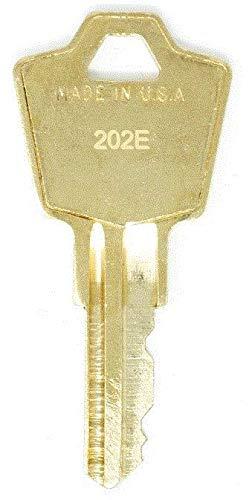 HON 202E File Cabinet Replacement Keys: 2 Keys