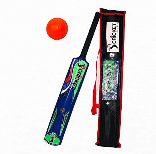 Cricket Best Buy Cricket Set for Kids Adult Blue Blaster Plastic Age Varies Bat Ball Carry Bag product image