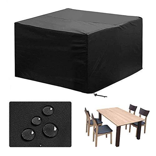 LXJ Outdoor Furniture Cover Outdoor Patio Furniture Cover Garden Waterproof and Dustproof Table Cover Outdoor Furniture Protective Cover