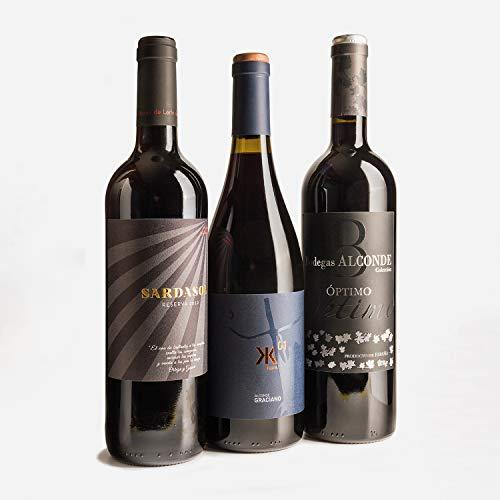 Smartbox - Caja Regalo - Aromas con Sello Bodegas Alconde: 6 Botellas de Vino Tinto a Domicilio - Ideas Regalos Originales