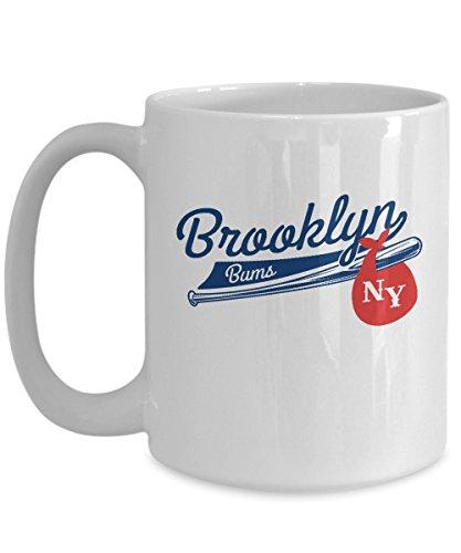 Retro Brooklyn Bums New York Baseball Coffee Mug