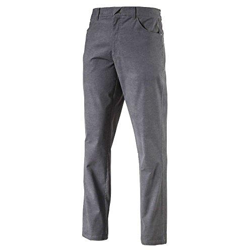 PUMA Herren 576140 Men\'s Corduroy Golf Pants, Size 30x32, Quiet Shade Hosen, Leiser Lampenschirm