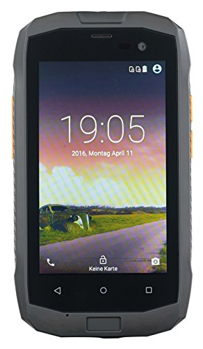 simvalley MOBILE Outdoor-Android-Handy: Dual-SIM-Outdoor-Smartphone, LTE, 4