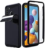 MONCABILE Stick on The Wall Phone Case That Sticks to Anything -[Drop Protection] Anti Gravity Sticky Phone Case for Samsung Galaxy A21 (Galaxy A21)