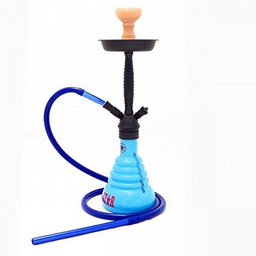 AMY Deluxe Shisha Wasserpfeife 4STARS 410 PSMBK (Blau)