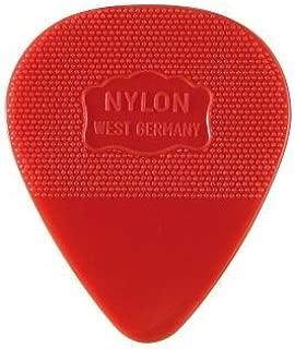 Herdim Guitar Pick Red Medium marked W. Germany