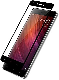 3D Full Screen Surfaces Tempered Glass Screen Protector By Ineix For Xiaomi Redmi Note 4 /4X - BLACK