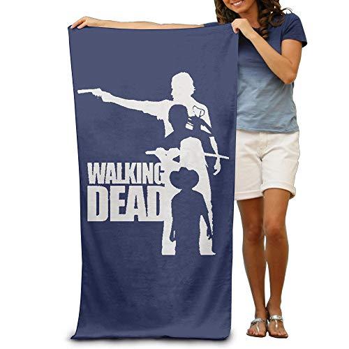 HUTTGIGHT LCYC Walking Poster Dead Toalla de Playa o Piscina para Adultos, 80 x 130 cm