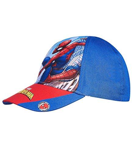 Spiderman Jungen Cap - blau - 52