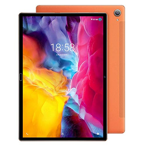 tablet PC Android 9.0 4G Full Netcom PC Pantalla HD de 10.6 Pulgadas Cámara de 16MP + 32MP 4GB RAM 128GB ROM Frecuencia Dual 5G WiFi Dual SIM Doble Modo de Espera Bluetooth 5.0 GPS 10000mAh