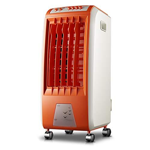6L enfriador de aire portátil con control remoto, 3 en 1 purificador del humectador, aire acondicionado y ventilador de refrigeración, 3 velocidades del ventilador, for el hogar, dormitorio, oficina (