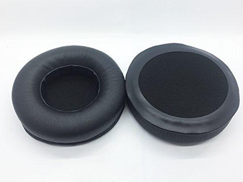 Vervanging eiwit kussen oorkussens oordop kopjes oorkussens kussensloop Voor JBL Synchros S700 s 700 Headset Hoofdtelefoon, black thicker