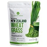 Antler Farms - 100% Pure New Zealand Organic Wheatgrass Powder, 40 Servings,...