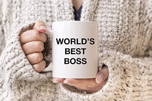 N\A Taza La Taza de la Oficina, Taza del Mejor Jefe del Mundo, Taza Friki, Regalo de Jugador, Regalos de Jefe