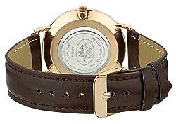 commercial Laura Ashley Women's Quartz PU Watch, Brown, 12 (Model: LA31020BN) ashley quartz watches