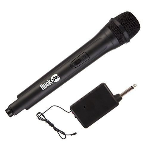 RockJam RJWM33-BK  Highfidelity Wireless Microphone for karaoke and home...
