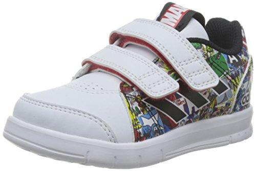 adidas LK Marvel CF I, Zapatos (1-10 Meses) Unisex bebé, Blanco (Ftwbla/Negbas/Rojint), 23