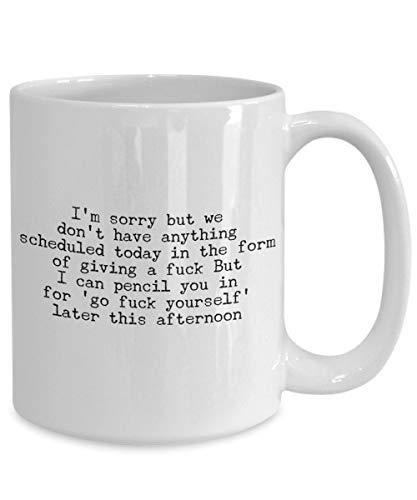 Taza sarcástica para recepcionista, regalo de secretaria, taza de café, té y humor, secretaria, taza de café, taza de té, taza de agente de viaje