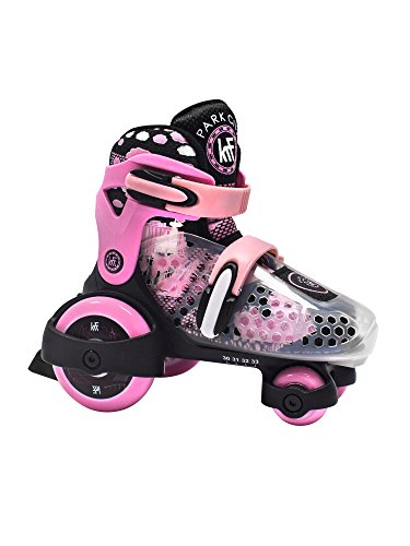 KRF The New Urban Concept Patin Baby Quad, Bebé-Niñas, Rosa (Rosa), M(30/33)