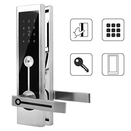 A3 WiFi BT intelligent deurslot met afstandsbediening voor encryptie, digitale toetsenblokkering zonder sleutel, elektronische sloten, ontgrendeling met MI-kaart, wachtwoord, app/sleutel