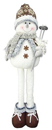 Christmas Concepts® Muñeco de Nieve Winter Wonderland Decoraciones de Navidad (25', Telescopic Wooly Hat)