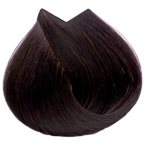 Tahe Organic Care Dauerhafter Farbstoff Haar-Farbe, Nein.5.76 Light Brown Voilet Red, 100 ml