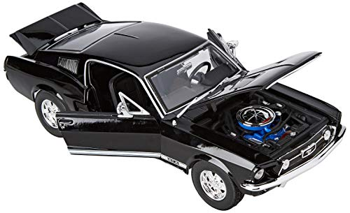 Maisto- Ford Mustang, Color Negro (31166BK)