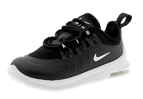 Nike Unisex-Kinder Air Max Axis (td) Laufschuhe, Schwarz (Black/White 001), 26 EU
