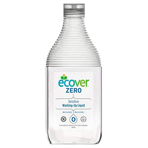 ZERO Washing Up Liquid (750ml) - x 3 Pack Savers Deal by ECOVER