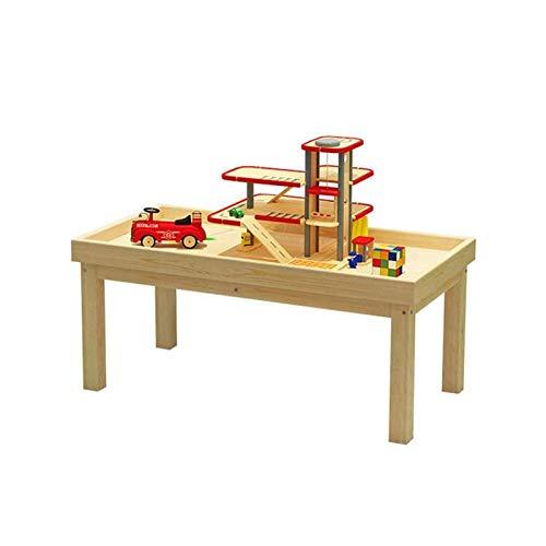 Multi Aktivität Tisch Kinderraum Sand Tisch Frühe Bildung Massivholz Baustein Spielzeug Tisch für Heimspielplatz