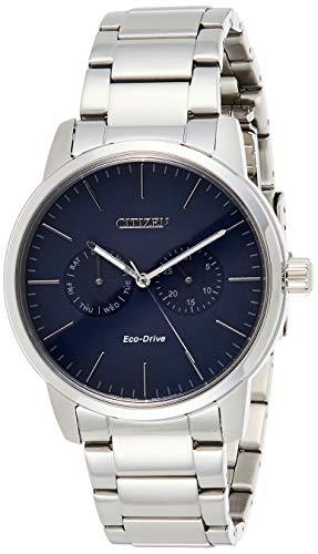 Citizen Analog Blue Dial Men's Watch - AO9040-52E