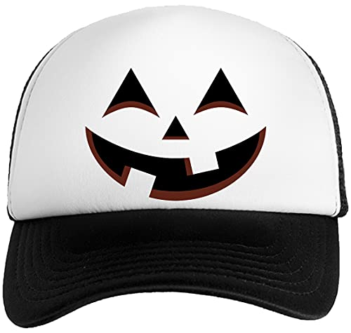 Feliz Calabaza Unisex Gorra De Bisbol Nios Nias Blanco Negro Baseball Boys Girls Cap