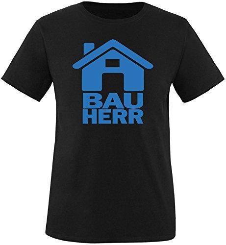 Luckja Bauherr Herren Rundhals T-Shirt