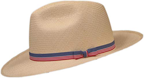 Panama Hats Direct Grosgrain Hat Band (Red White Blue) (American Flag 5/8)