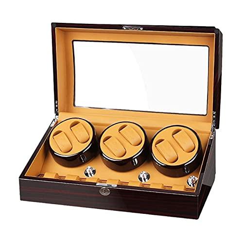 Radiador De Reloj AutomáTico, Caja de la Caja de visualización de 6 +7 con Motor Extremadamente silencioso (Color : 7)