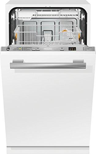 Miele G4780 SCVi D ED230 2,0 Geschirrspüler Vollintegriert / 221 kWh / 9 MGD / Besonders sparsam mit EU-Energieeffizienzklasse A+ / Bequemes und Entladen Besteckschublade
